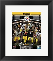 Framed Pittsburgh Steelers 2012 Team Composite