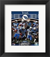 Framed Tennessee Titans 2012 Team Composite