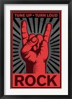 Framed Tune Up, Turn Loud
