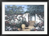 Framed Jardin de Fleur