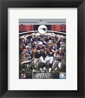 Framed New England Patriots 2012 Team Composite