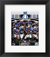 Framed Indianapolis Colts 2012 Team Composite