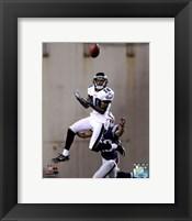 Framed DeSean Jackson 2012 catching the ball