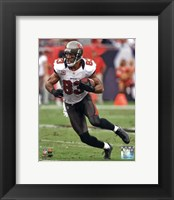 Framed Vincent Jackson 2012 Tampa Bay Buccaneers