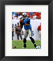 Framed Cam Newton 2012 Action