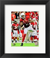 Framed Larry Fitzgerald 2012 Action