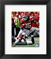 Framed Jamaal Charles 2012 Action