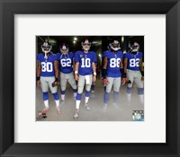 Framed New York Giants 2012 Team Introduction