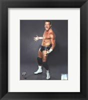 Framed Dolph Ziggler 2012 white and black