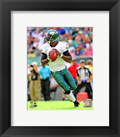 Framed Michael Vick Football Action