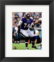 Framed Michael Oher 2012 Action