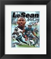 Framed LeSean McCoy 2012 Portrait Plus