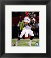 Framed Peyton Manning 2012 Action