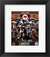 Framed Tampa Bay Buccaneers 2012 Team Composite