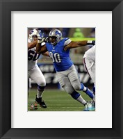 Framed Ndamukong Suh 2012 Action