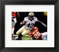 Framed Darren Sproles 2012 Action