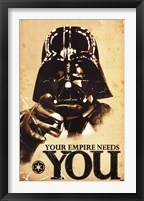 Framed Star Wars - Your Empire