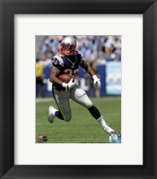 Framed Stevan Ridley 2012 with the ball