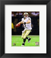 Framed Drew Brees 2012 Action