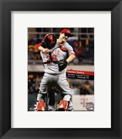 Framed Homer Bailey No-Hitter September 28, 2012