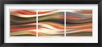 Framed CURVE 45 (TRIPTYCH)