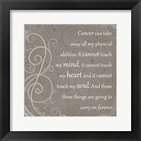 Framed My Mind, My Heart, My Soul - Jimmy V