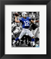 Framed Andrew Luck 2012 Spotlight Action