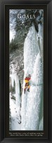 Framed Goals-Ice Climber