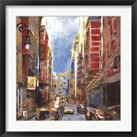 Bright Lights, Big City I Framed Print
