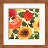 Framed Fall Garden II