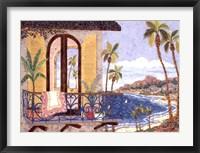Framed Seaside Balcony