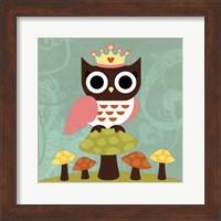 Framed Princess Owl