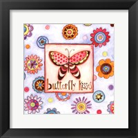 Framed Butterfly Kisses