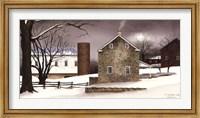Framed Cold Winter's Night