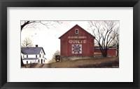 Framed Quilt Barn