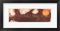 Framed Sweet Dreams & Moon Beams