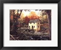 Framed Old Mill Stream V