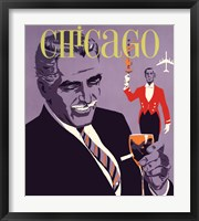 Framed Chicago Art Deco the Windy City