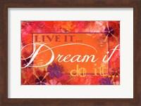 Framed Dream It