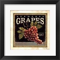 Framed Seedless Grapes