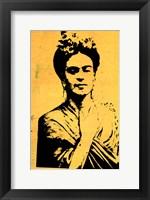 Framed Kahlo