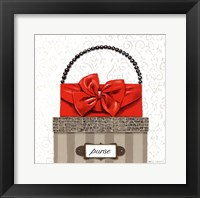 Tres Chic Square II Framed Print