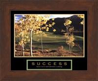 Framed Golf-Success