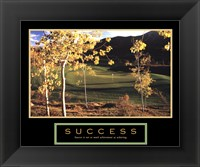 Framed Golf-Success