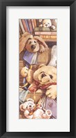 Framed Teddy Bear Sleepytime