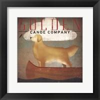 Golden Dog Canoe Co. Framed Print