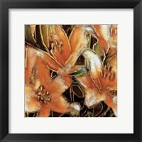 Framed Apricot Dream II