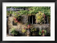 Framed Cotswold Arms