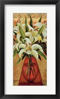 Framed White Lilies
