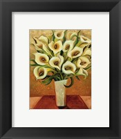 Framed Calla Lily Bouquet